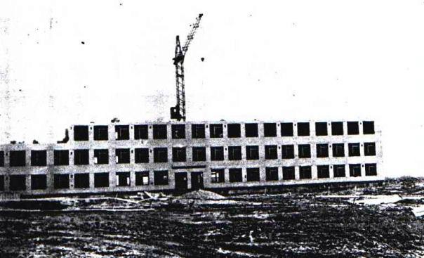 Строительство СШ №1 1978