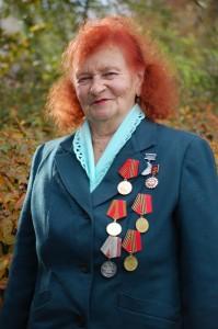 Пережившая все ужасы Освенцима жительница г. п. Лиозно Е. А. Дружинина отмечает 80-летний юбилей