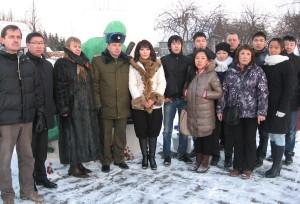 Уроженцы Якутии посетили Лиозненский район