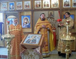 В агрогородке Велешковичи открыт храм в честь Святителя Николая Чудотворца