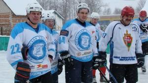 Хоккейный матч закончился победой витебчан