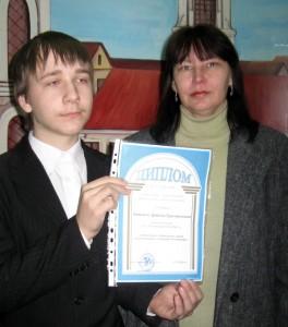 Первые успехи Артема Титенко