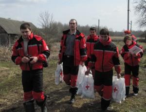 Витебская областная организация Белорусского Общества Красного Креста реализует проект срочной помощи пострадавшим от весеннего паводка.