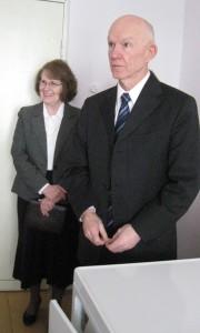 Отделение круглосуточного пребывания в д. Высочаны Лиозненского района посетила американская семейная пара Кит и Присцилла Хаф