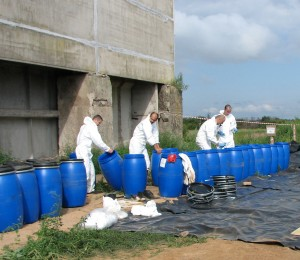 подготовка тары для переупаковки пестицидов