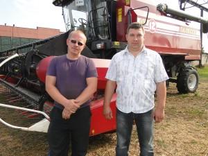 Более четырёх тысяч тонн зерна – от СФ «Чкаловский»