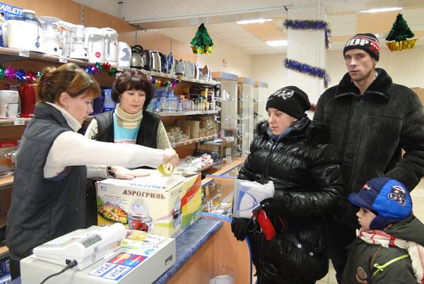 В ноябре в Лиозно начала работать ещё одна торговая точка – магазин электротоваров «ТехноМир»