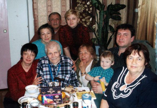 19 ноября житель аг. Добромысли И. В. Шемель встретил 100-летний юбилей