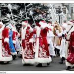 По центральной улице Лиозно пройдут Деды Морозы