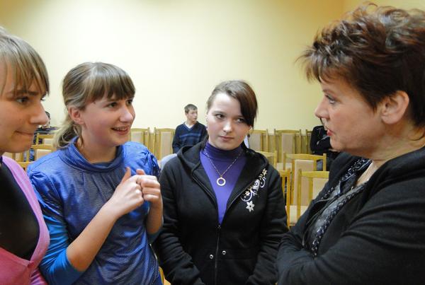 Определиться с выбором профессии помогают лиозненским школьникам участники профориентационных мероприятий