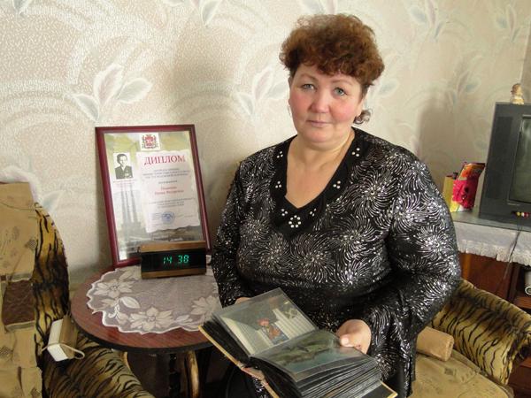 6 марта жительнице д. Перемонт Лиозненского района И. Ф. Пациенко была вручена высокая награда — орден Матери