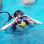 Мальчишки из Лиозненского района приехали в Витебск учиться водолазной науке