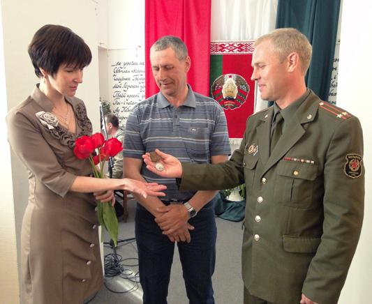 В военно-историческом музее г. п. Лиозно экспозиция военных лет пополнилась новым экспонатом