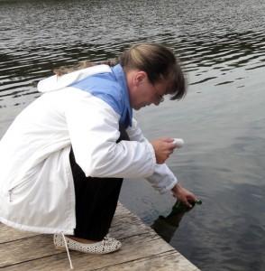 Во многих колодцах Лиозненского района количество нитратов в воде превышает норму