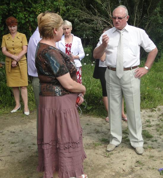 Сделать школу №1 г. п. Лиозно эталоном красоты помогут сотрудники Центрального ботанического сада Национальной академии Беларуси