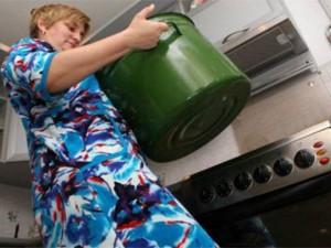 В микрорайоне «Школьный» прекратилась подача горячей воды