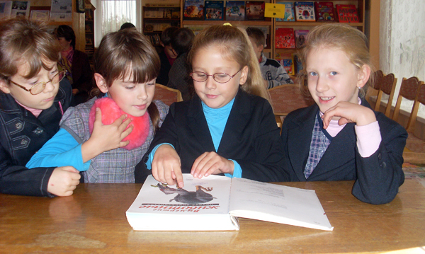 Лиозненской районной детской библиотеке исполняется 60 лет