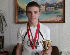 Юный каратист из Лиозно в числе призеров республиканских соревнований