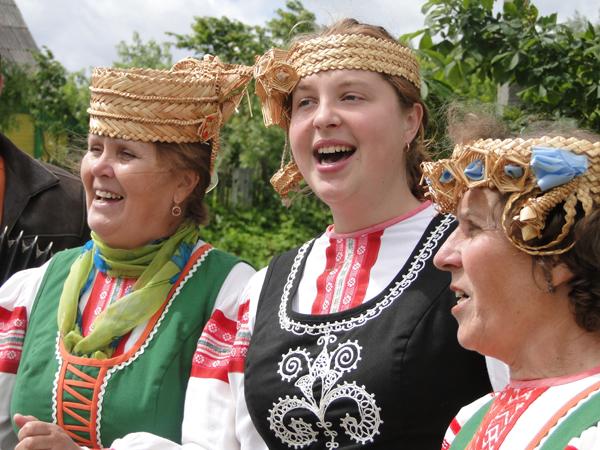 Лиозненский фольклорный коллектив примет участие в проекте ОНТ