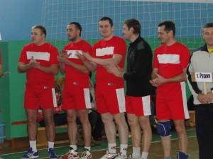 В аг. Пушки прошел турнир по волейболу