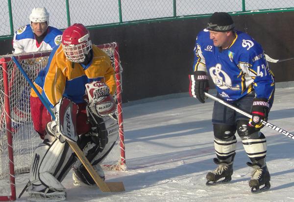 Лиозно: В разгаре хоккейный сезон