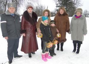 Лиозно: новогодние подарки получили дети из неблагополучных семей