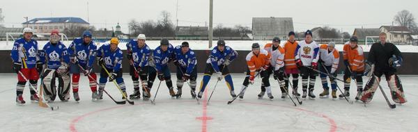 Дружеский матч по хоккею принес очередную победу лиозненской команде