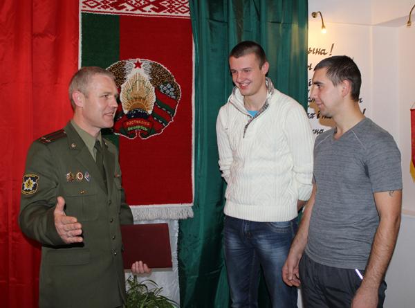 34 призывника из Лиозно пополнят ряды белорусской армии