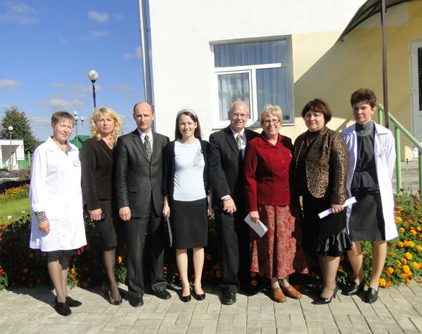 Представители международной благотворительной организации «София» побывали в Бабиновичах