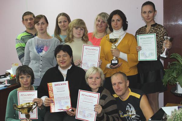 С дипломами и наградами вернулись лиозненские работники торговли из областной олимпиады