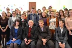 Творческая встреча писателя Геннадия Пациенко прошла в Добромыслинской СШ