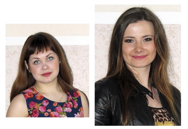Полина Куриленко и Екатерина Панферова