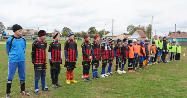 Турнир по футболу среди детей в Лиозно