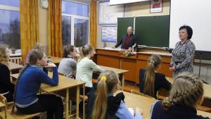 Лиозненские школьники знакомятся с профсоюзами