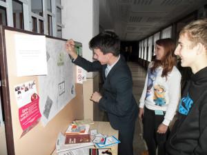 Лиозненские школьники голосуют против курения