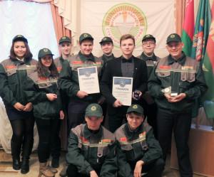 Лиозненский студенческий отряд  стал лучшим экологическим отрядом республики