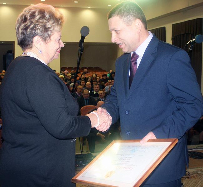 Лиозненские льноводы принимали поздравления в связи с 85-летием завода