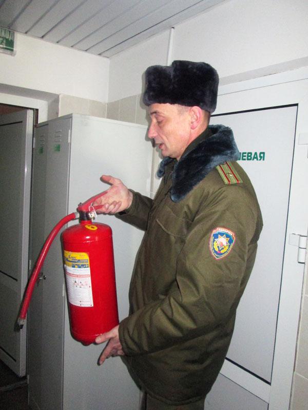 Мартовские проверки провела инспекция надзора и профилактики Лиозненского РОЧС