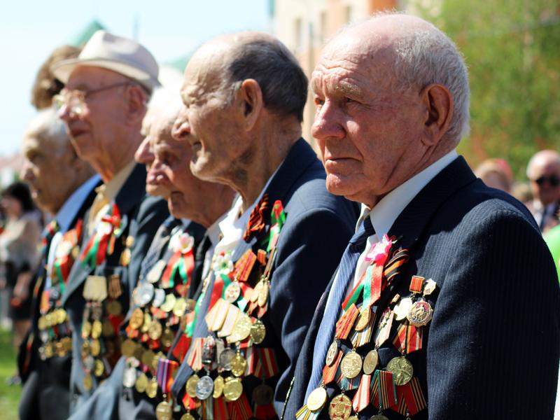 Празднование 71-й годовщины Великой Победы в Лиозно