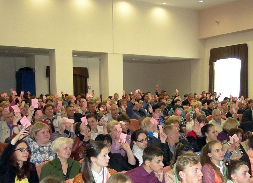 Лиозненщина избрала участников Всебелорусского собрания