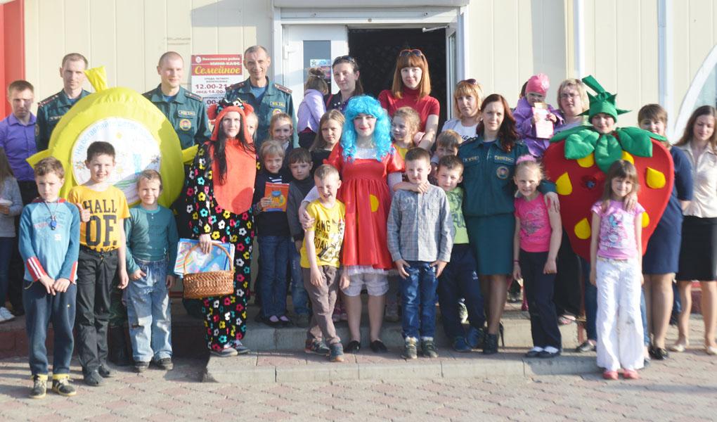 В «Семейное» пригласили семьи с детьми