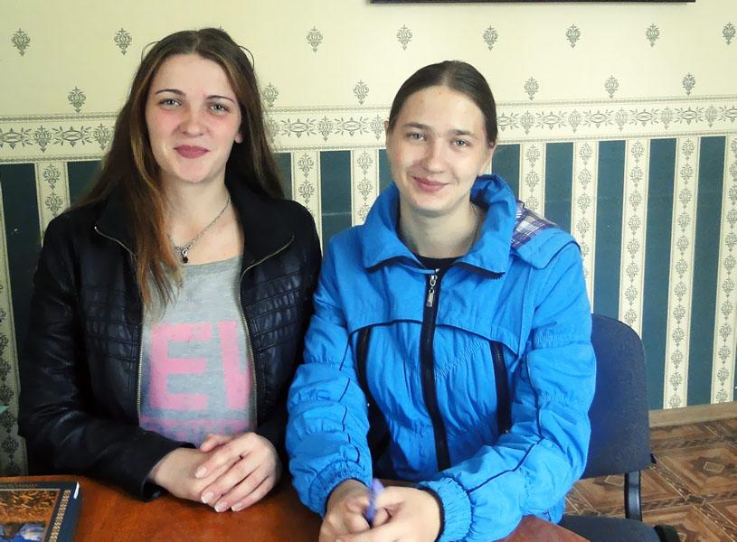 Сёстрам Пугаевым из Велешковичей Лиозненского района  работать в деревне интересно