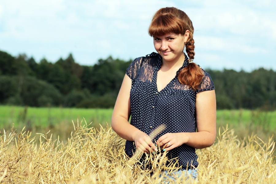 Молодой агроном СПУ «Перемонт»  Т. М. Гуцу довольна профессией и местом работы