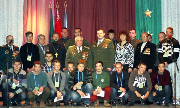 25 лиозненских призывников торжественно проводили в ряды Вооружённых Сил Беларуси