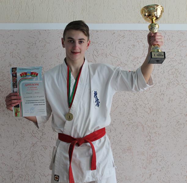 Одержал победу в международном турнире