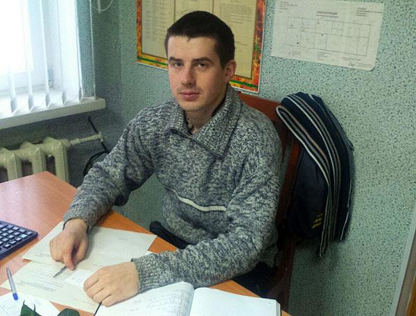 Молодой мастер леса Стасевского лесничества