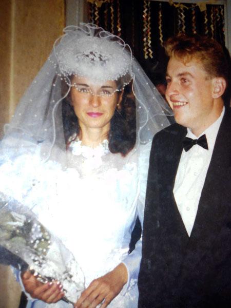Ирина и Вячеслав Гончаровы, 1996 г.