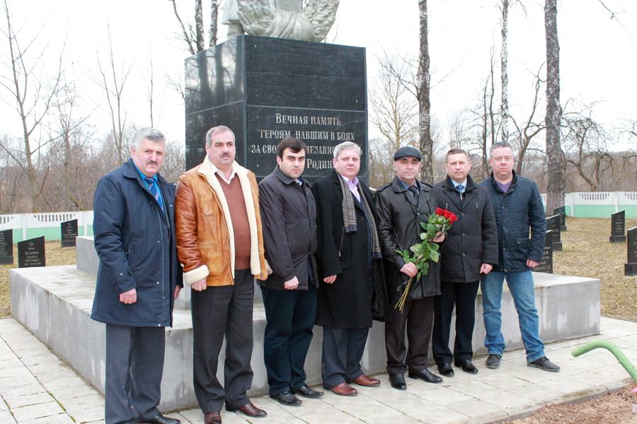 Долгий поиск погибшего в годы войны родственника завершился в Лиозненском районе