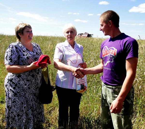 Переходящий вымпел у ОАО «Данукалова-Агро» Лиозненского района