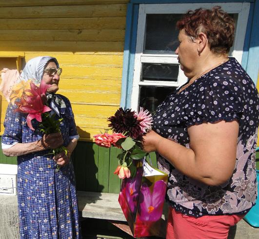 Жительница д. Колышки Лиозненского района отпраздновала 95-летие